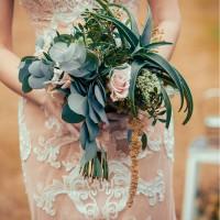Букет свадебный - оригинальный