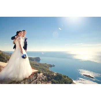 Готовая свадьба в Черногории для двоих