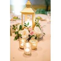Цветочные декорации на стол