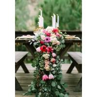стол молодоженов (Garden Wedding style)